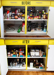 kitchen organization ideas for the inside of cabinet doors and
