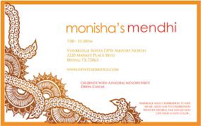 mehndi invitation treschic9to5 wedding invitations