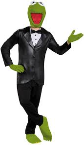 men u0027s kermit the frog costume costumes