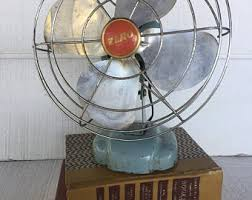 Oscillating Desk Fan by Industrial Desk Fan Etsy