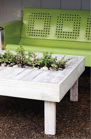 Diy Patio Coffee Table Outdoor Coffee Table With Metal Base