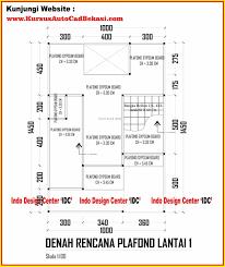 type lantai d denah dan desain rumah minimalis terbaik type lantai