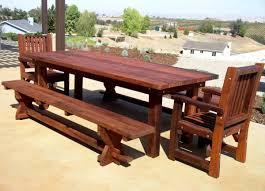 best wooden patio table u2013 outdoor decorations