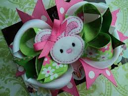 easter hair bows 42 best easter hair bows images on hairbows crowns