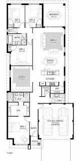 narrow lot luxury house plans house plan lovely house plans for rear view lots house plans for