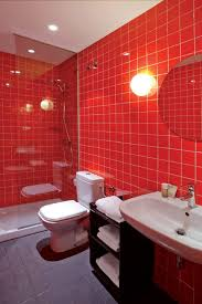 Red And White Bathroom Ideas Licious Red Bathroom Designs Cool And Black Small White Brown