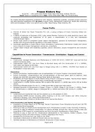Resume Qualities by Director Power Projects Resume