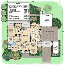 house plans with portico plan 36195tx european elegance with portico architectural design