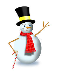 frosty snowman cane royalty free stock images image