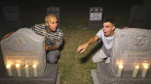 Challenge Lil Moco 24 Hour Overnight In Cemetery Overnight Challenge Creepy Do