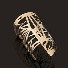 cuff bracelet jewelry images Wide open gold cuff bracelet jewelry bracelets bangle pulseiras de jpg