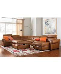 Martino Leather Sectional Sofa Martino Leather 3 Piece Chaise Sectional Sofa Shops Leather And