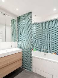 blue tiles bathroom ideas 25 best scandinavian blue tile bathroom ideas houzz