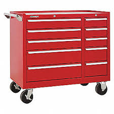 kennedy 8 drawer roller cabinet kennedy rolling cabinet 39 3 8 w x 29 1 16 h red 414y07 310xr