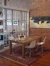 diy room divider ideas with frame picture and dining table also