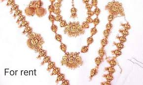 bridal jewellery on rent bridal jewellery set rental available buy