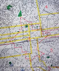 New Orleans Zip Code Map Old Maps American Cities In Decades Past Warning Large Images