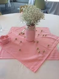 pink u0026 gold centerpiece painted mason jar with chalk paint gold