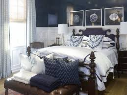 Best Coastal Bedrooms Images On Pinterest Bedrooms Coastal - Blue and white bedrooms ideas