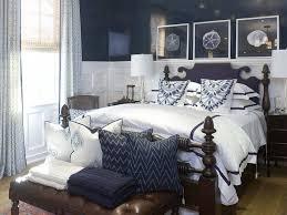Best Coastal Bedrooms Images On Pinterest Bedrooms Coastal - Blue and white bedroom designs