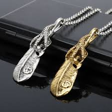 titanium jewelry necklace images New arrival takahashi goro feather necklace goro 39 s titanium jpg
