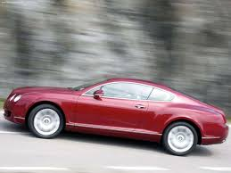 matte red bentley 3dtuning of bentley continental gt fastback 2004 3dtuning com