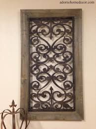 Download Wood And Metal Wall Decor