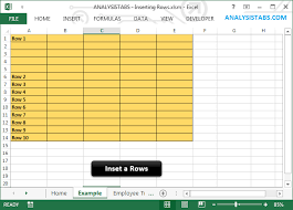 vba insert rows excel worksheet example macro codes