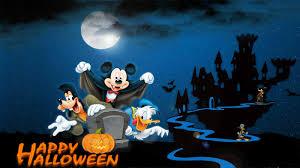 spooky halloween pictures free disney halloween screensavers and wallpaper wallpapersafari