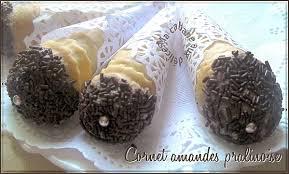 cuisine alg駻ienne gateaux recettes cornet amandes et chocolat gâteau algerien recettes faciles