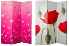 furniture magnificent four panel door mirror room divider as