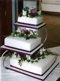 3 tier wedding cake 3 tier purple wedding cakes wedding cake toppers