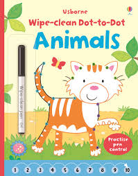 wipe clean dot to dot animals u201d at usborne books at home