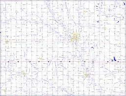 Nebraska State Map by Bridgehunter Com Seward County Nebraska