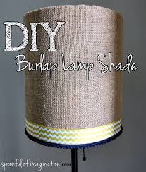 Lamp Shades Diy Diy Burlap Lamp Shade Lamps And Lighting