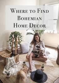 where to find bohemian home decor items little black shell