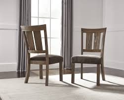 signature design by ashley tamilo dark brown dining upholstered signature design d714 01