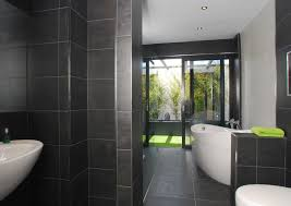 black tile bathroom ideas 25 grey wall tiles for bathroom ideas and pictures