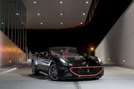 Ferrari California Black - ferrari puts some red lipstick on california t special in frankfurt