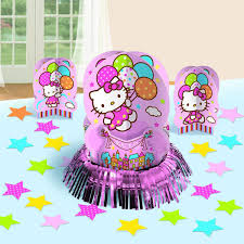 Hello Kitty Party Decorations Hello Kitty Party Supplies Table Decoration Kit At Toystop