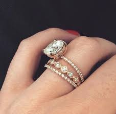 white gold engagement ring with gold wedding band gold wedding band engagement ring phos white gold solitaire