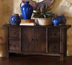 Pottery Barn Furniture Pottery Barn Benchwright Console Table In Wax Pine Pottery Barn