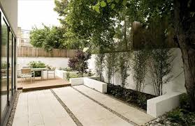 plants with ga x cool residential landscape mid century modern
