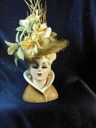 Napco Lady Head Vase 60 Best Lady Head Vases Images On Pinterest Vases Vintage Vases