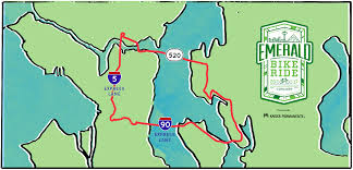 Seattle Crime Map by The 2017 Emerald Bike Ride Will Make A Big Freeway Loop On 520 I