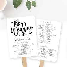 flat wedding programs wedding program fan or flat wedding program templates printable