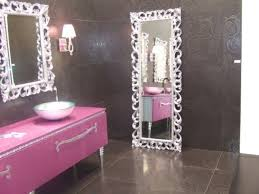 girls bathroom decorating ideas unique framed mirrors glamour bathroom glamour bathroom