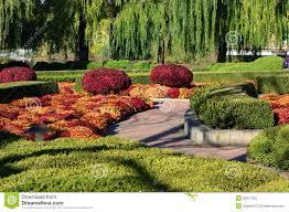 Chicago Botanic Garden Map by Autumn At Chicago Botanic Garden Stock Photo Image 50877250