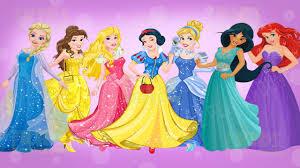 disney princess elsa ariel jasmine snow white dress up game for