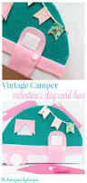 diy vintage camper valentine u0027s day card box the homespun hydrangea